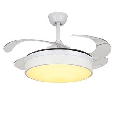 Giới thiệu mẫu quạt trần đèn phòng khách đẹp lung linh