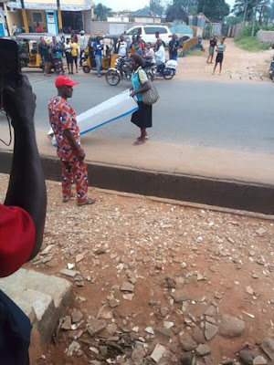 Woman Gifts Her Husband A Coffin On Fathers' Day In Anambra State