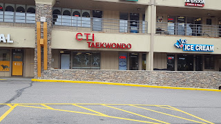 The front of the Conifer Colorado Taekwondo Institute martial arts school