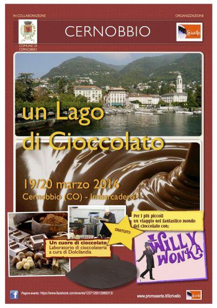 Sagra del Cioccolato Un Lago di Cioccolato  19/20 Marzo 2016 Imbarcadero - Cernobbio (CO)