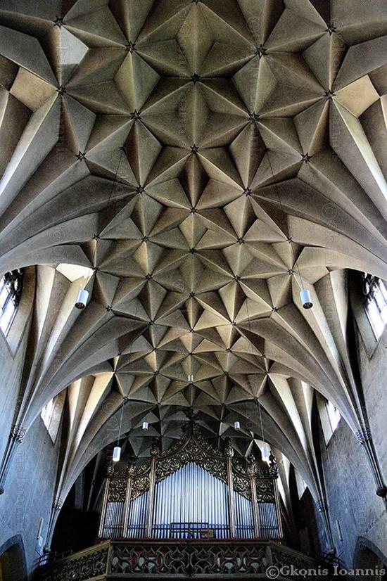 inspirasi Bangunan arsitektur dan origami