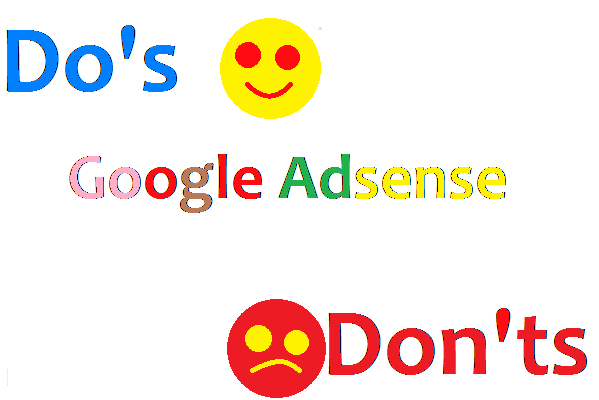 Tips on the Dos and Don'ts of Google Adsense Marketing to get the most out of your Google Adsense Setting:   Go to https://www.google.com/adsense    1. Set up an account  2. Decide what type of ad format you want  3. Embed the html on your website.    15 advices to get the most out of your Google Adsense: Google has many tools to check them all and see which ones work for you.   1. Filter your competition: Google allows you to filter up to 200 URLs from being displayed on your site.  2. Target your ads by using the correct keywords and density in your content and making sure your content is relevant.  3. Text ads are usually the best  4. Positioning of your Adsense ads: the top of your site will earn you more money  5. Keyword niche markets are the highest paying ads.  6. You can add small graphics to draw attention to your ads.  7. Customize the color of your ads to make them look like part of your website.  8. Simplify your website to make your ads more visible.  9. Combine your ads with the Google search box. This also pays for searches and will bring in some money.  10. Create multiple niche sites. The more you earn, the more you earn.   11. Make your font the same size as your Google ad.  12. You can set up sites that offer free resources and giveaways, these will be ideal for Google Ads.  13. Use Google's tracking tools. Keep track of how well your ads are performing and which site and position are performing the best.  14. Use the 250 x 250 rectangular ad format and leave them borderless. Combine the ads on your website and make them look like resources, not ads.  15. Make use of Google ad links. They have a higher click-through rate than test ads.    When not to use Google adsense:   1. If you are using PPC engines to drive traffic to your site. You don't want visitors to leave your site and use Google links to go to another website.  2. If you sell your own products and services and you don't want your visitor to be distracted  3. If you use other text ads 