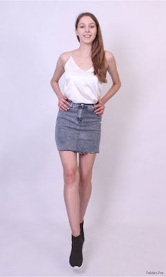 Faldas de Mezclilla Cortas