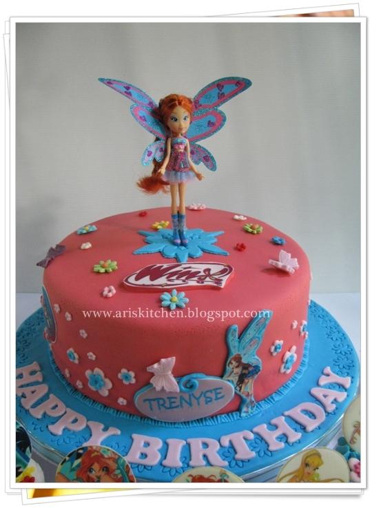 D Angel Cakes Winx Club Cake Theme