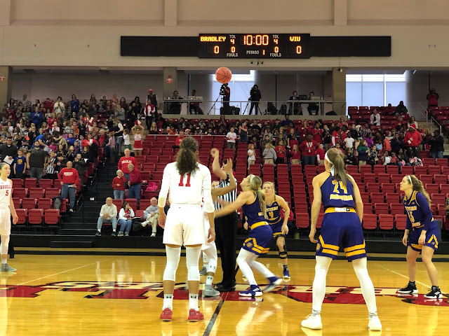 Bradley survives comeback from Western Illinois for 14-point Win
