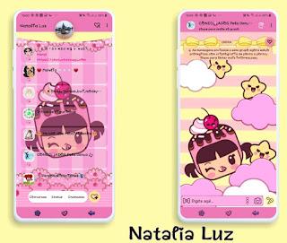 Girl Cute Theme For YOWhatsApp & Fouad WhatsApp By Natalia Luz