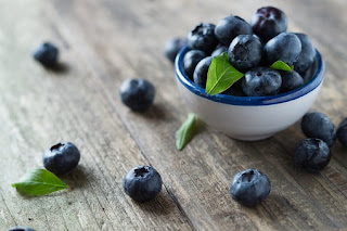 Blueberries for a young skin!