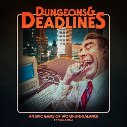 Dungeons and Deadlines - A game of work/life balance | Miles Matrix Chiptune Soundtrack