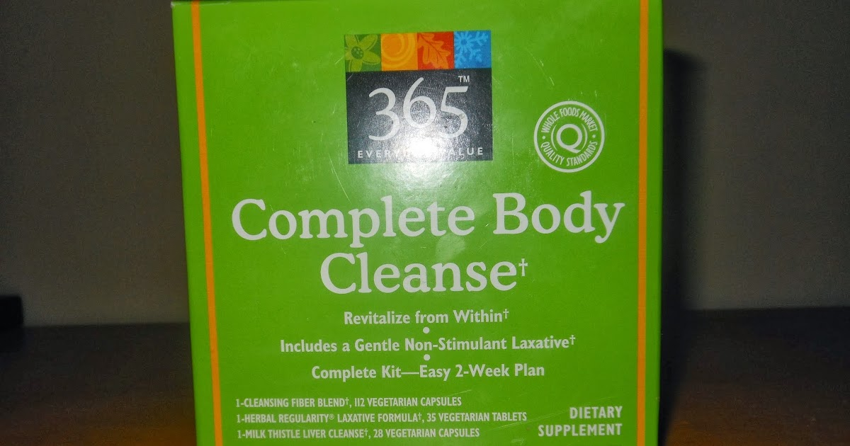 Complete Body Cleanse Whole Foods Review