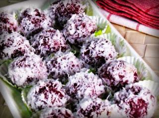 Resep cara membuat kue klepon ubi ungu resep masakan enak sederhana