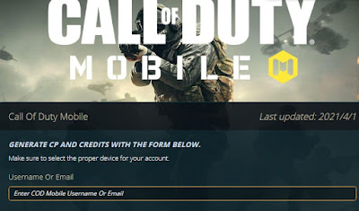 Codpts.com - Get Free CP On Call Of Duty Mobile
