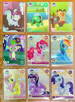 Kayou My Little Pony Trading Cards SGR Cards