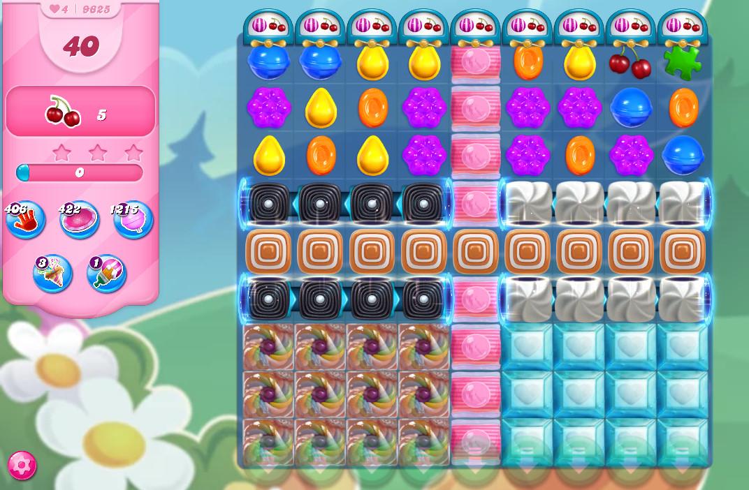 Candy Crush Saga level 9625