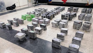 Fragata francesa intercepta una lancha con drogas al sur de Rep. Dominicana.