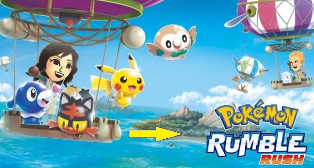 تحميل لعبة Pokémon Rumble Rush للأندرويد