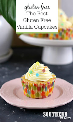 The Best Gluten Free Vanilla Cupcakes Recipe
