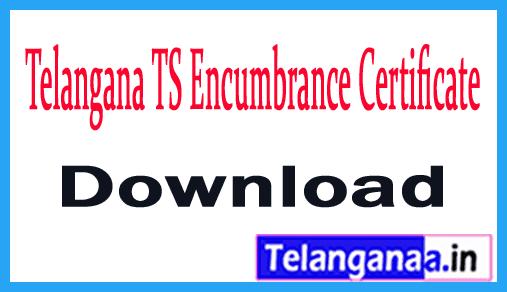 Telangana TS Encumbrance Certificate Download TS EC Certificate Online Download