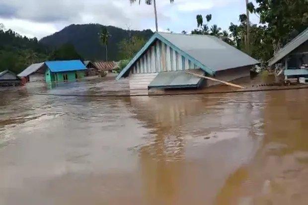 Banjir Sultra Makin Meluas,  Merendam Ribuan Rumah