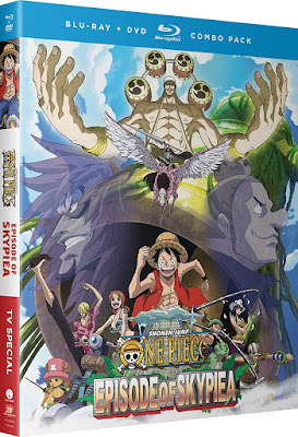 One Piece Episode Of Skypiea Bluray Dvd Combo