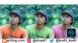 Cara Memngganti Warna Baju Adobe Photoshop