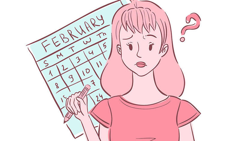 تأخر الدورة الشهرية عند البنات