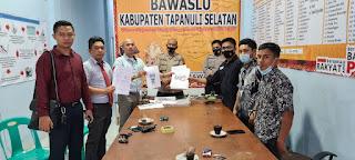 Diduga Tidak Netral Dalam Pilkada Tapsel, Oknum Kadis, Camat dan Kades Dilaporkan ke Bawaslu