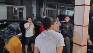 Seorang Mamah muda diamankan Polisi di perumahan Serang City