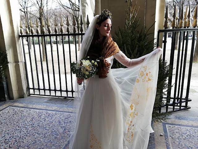 mariée de l'hiver