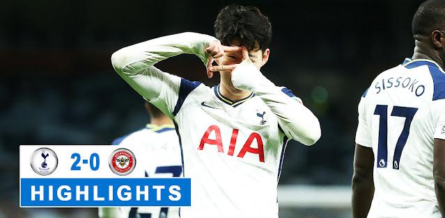 Tottenham vs Brentford Highlights