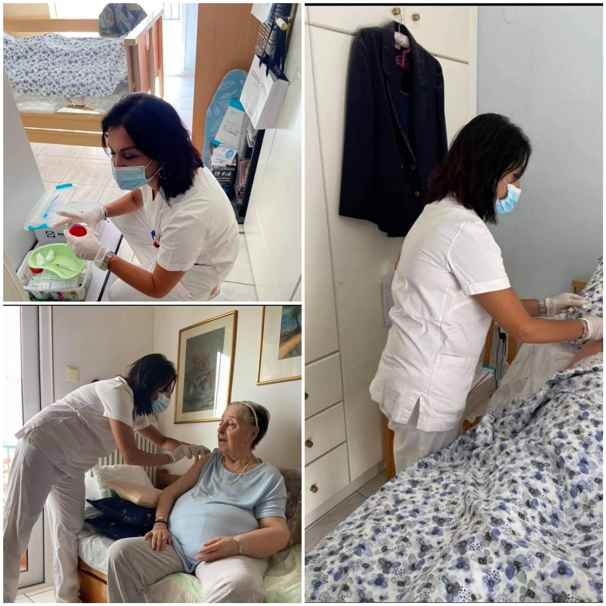 Ξεκίνησαν οι εμβολιασμοί κατ' οίκον στην Ξάνθη
