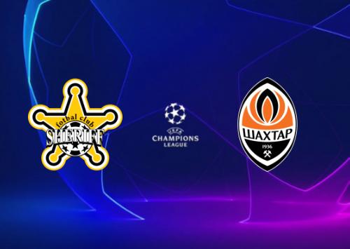 Sheriff vs Shakhtar Donetsk -Highlights 15 September 2021