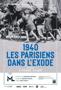 Les Parisiens dans l'exode de 1940 au musée de la libération.
