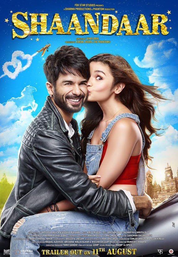 Alia Bhatt Shaandaar Movie Photos