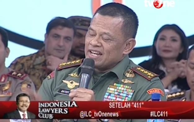 Jenderal Gatot Nurmantyo Menegaskan Bahwa Umat Islam-lah yang Menjadi Benteng Terakhir NKRI