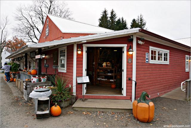 Tienda de la Granja Red Apple Farm en Massachusetts