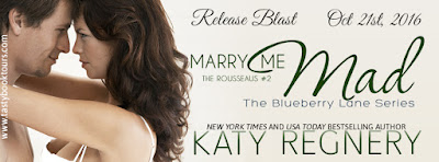 Release Blast & Giveaway: Marry Me Mad by Katy Regnery