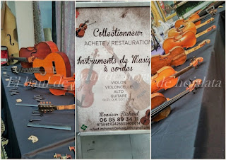 Stand de luthier en Desembalaje Irun