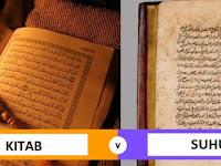 8 Perbedaan Kitab dan Suhuf + Nabi Penerima Suhuf dan Penjelasannya