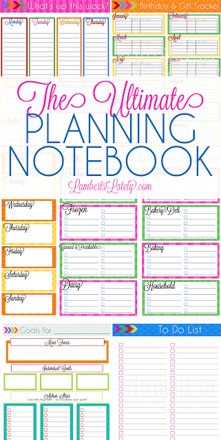 ultimate planning notebook add on to do list a book update