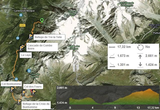 Etapa 2 Tour del Mont Blanc