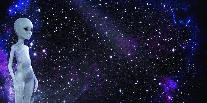 Extraterrestre en el Universo oscuro. Se prugunta ¿El futuro qué es?