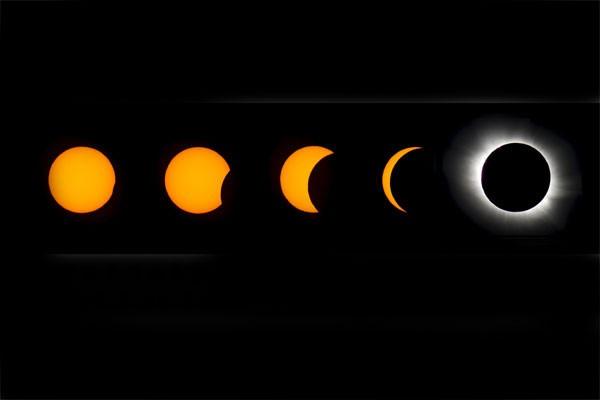 Fenomena Gerhana Matahari Total