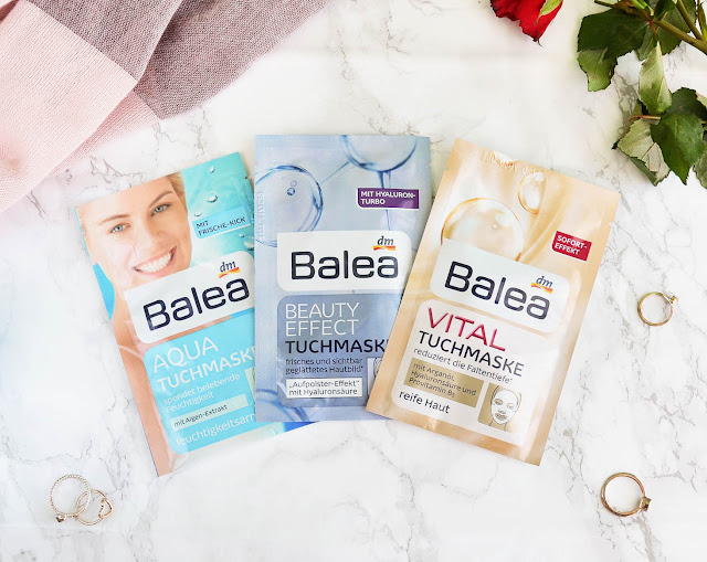 Trying Balea Face Masks Sheet Masks