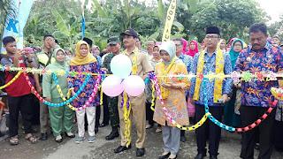 Harapan Serma Kusento pada Pencanangan Kampung KB Mekar Lestari