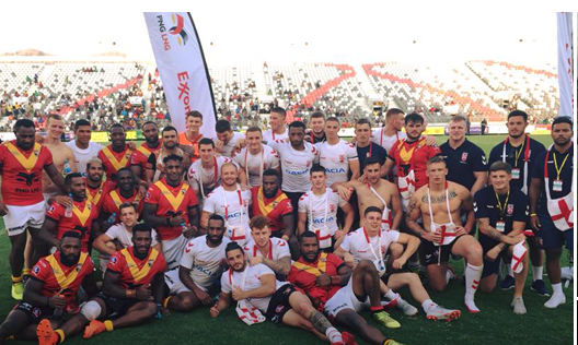 Kumuls come from behind to beat England Knights 32 - 22