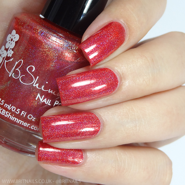 KBShimmer Poppy Kisses
