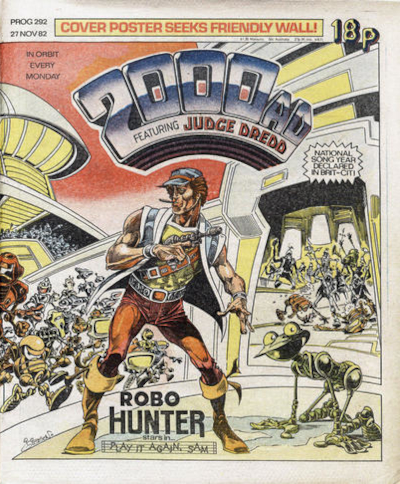 2000 AD Prog 292, Robo-Hunter