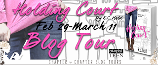 http://www.chapter-by-chapter.com/blog-tour-schedule-holding-court-by-k-c-held/