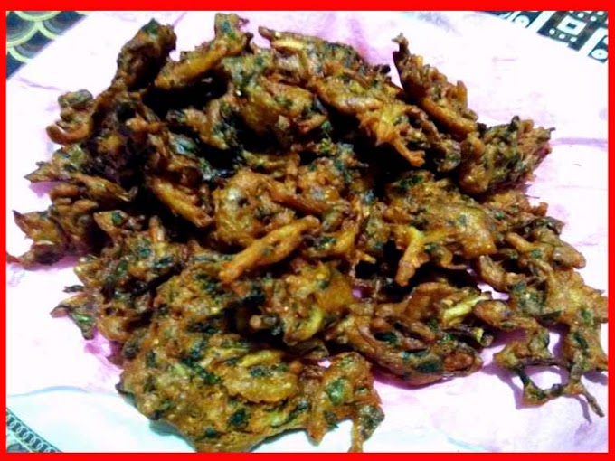 Ginger Garlic And Mint Pakoray Recipe