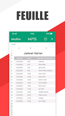 تطبيق WPS Office Full كامل للأندرويد مجانا